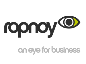 Ropnoy - Logo with tagline - Green