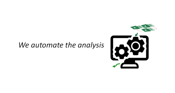 We automate analysis